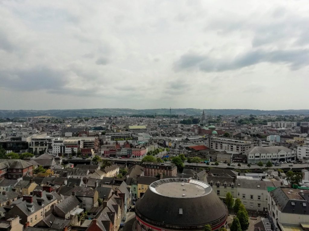 View from top of Shandon at St. Anne's Church