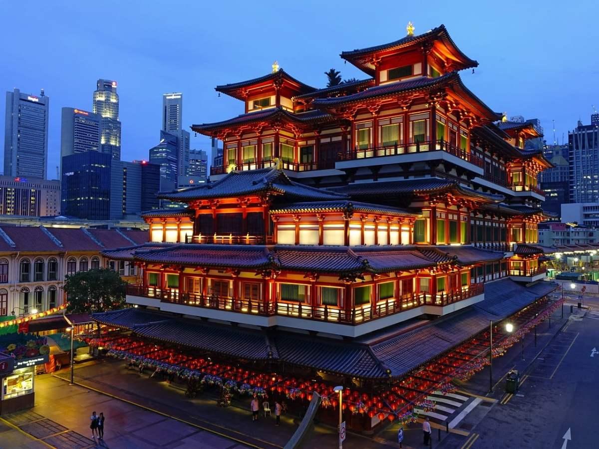 singapore chinatown photo