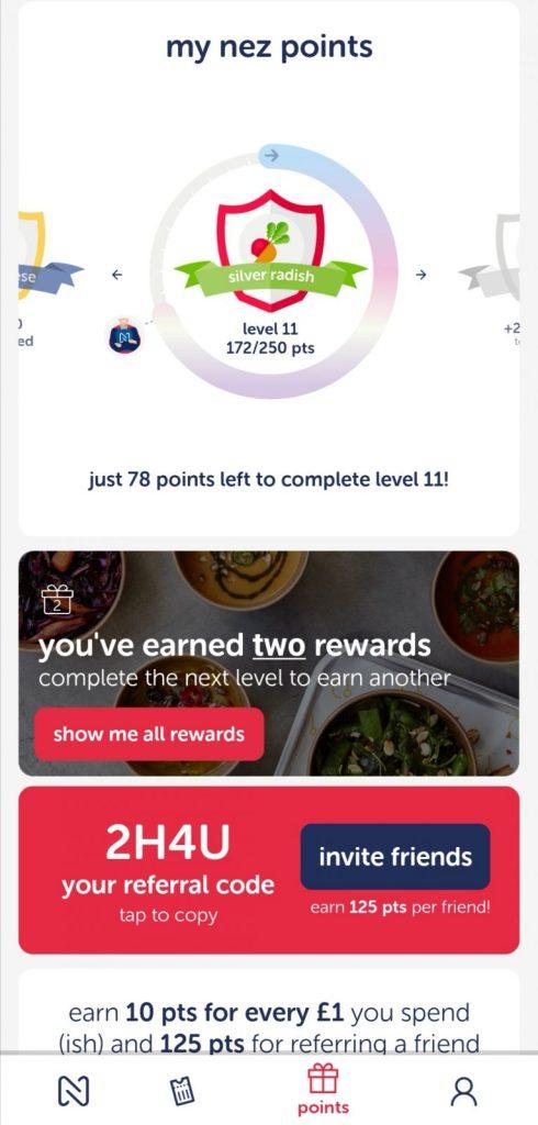 Nez London food app