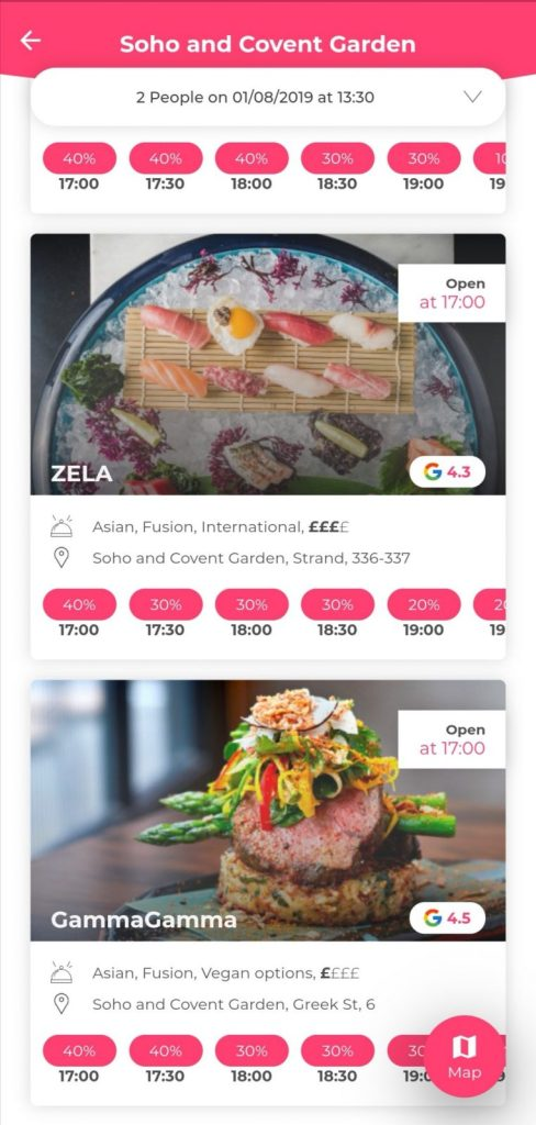 Discoeat London food app review