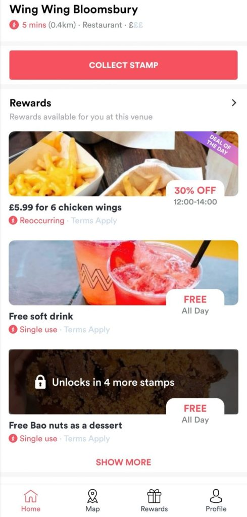 Embargo London food app review