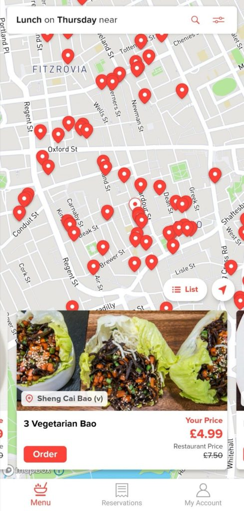 Mealpal London food app review