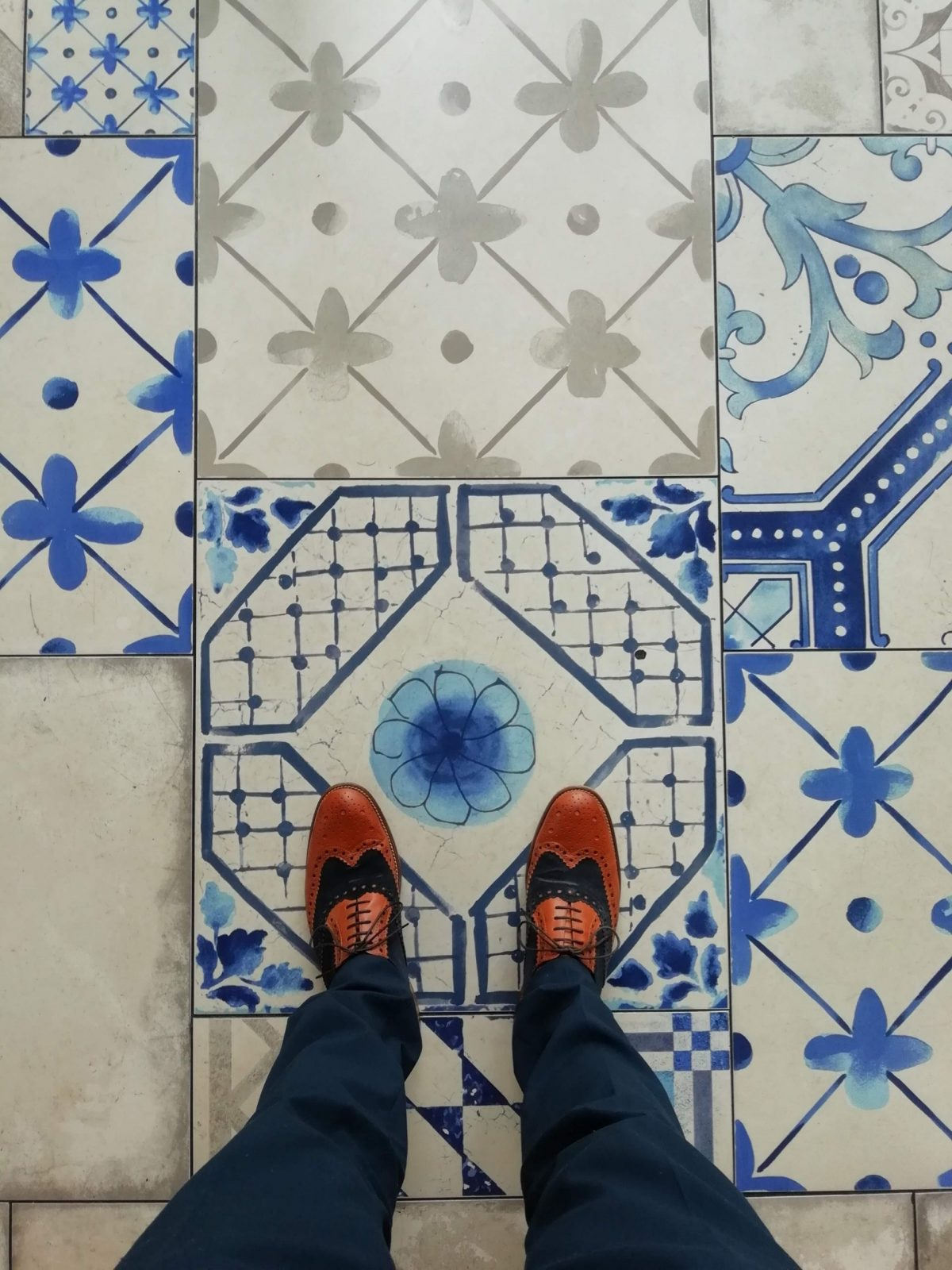 Duck and Waffle tiles
