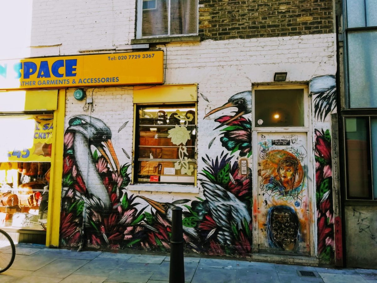 New Street Art in London: Alternative London Walking Tour Review 39