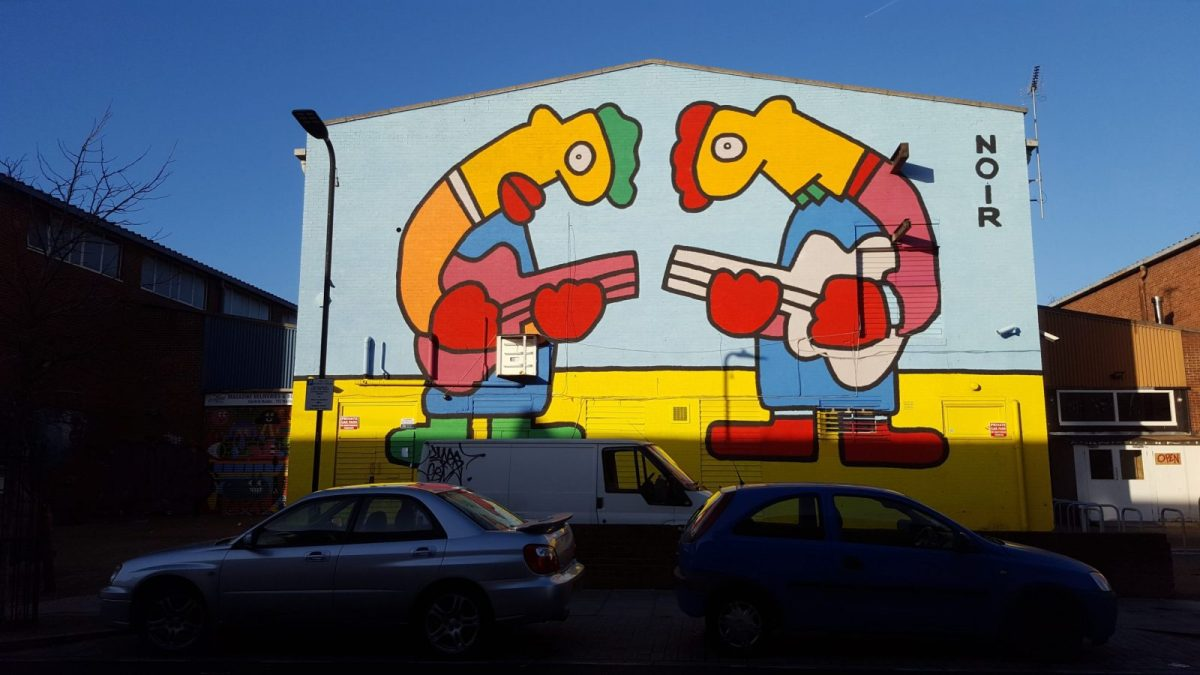 New Street Art in London: Alternative London Walking Tour Review 40