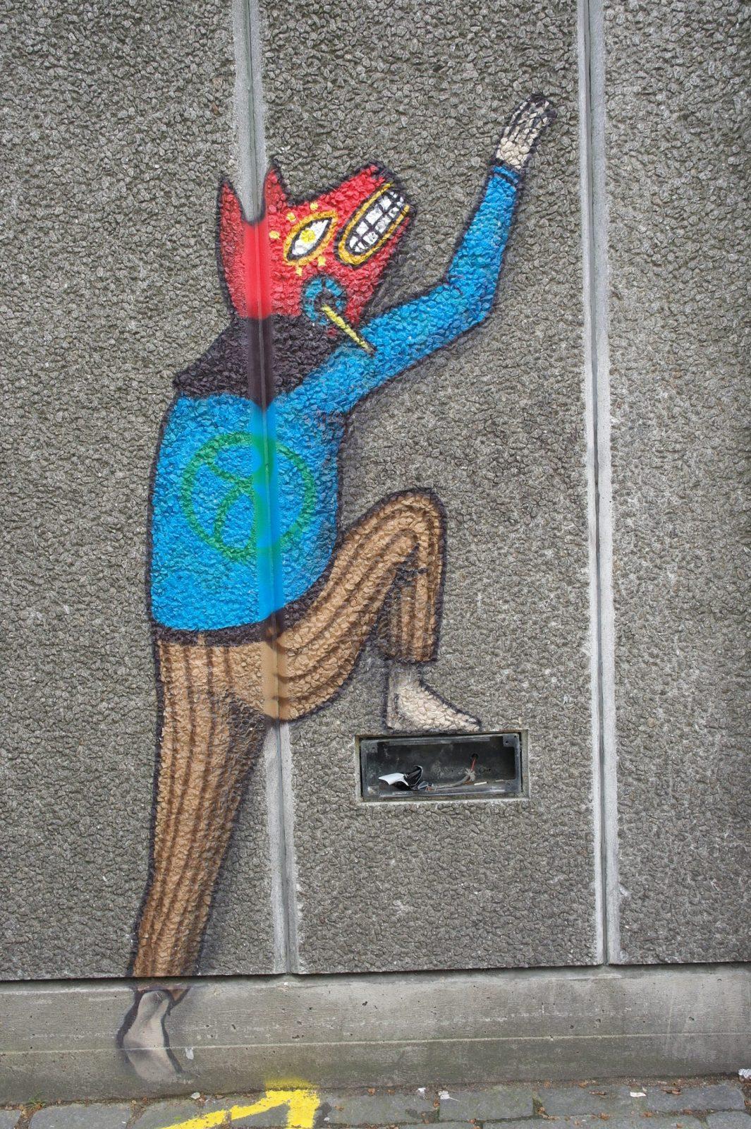 New Street Art in London: Alternative London Walking Tour Review 35