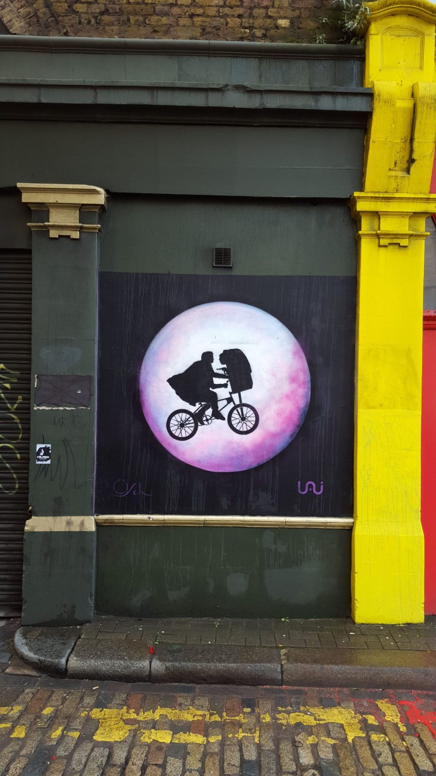 New Street Art in London: Alternative London Walking Tour Review 36