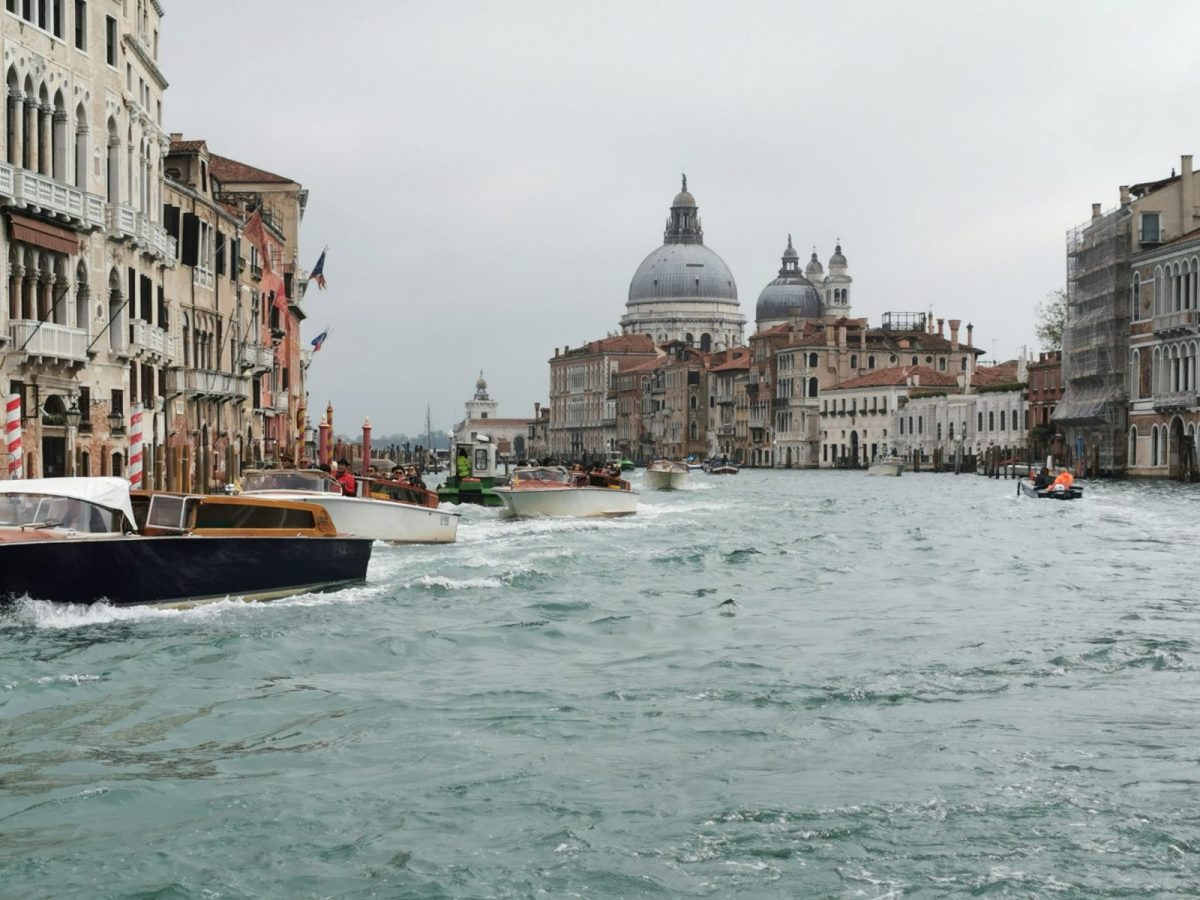 The View From The Back Of A Vaporetto In Venice - This Must Be The Place 4