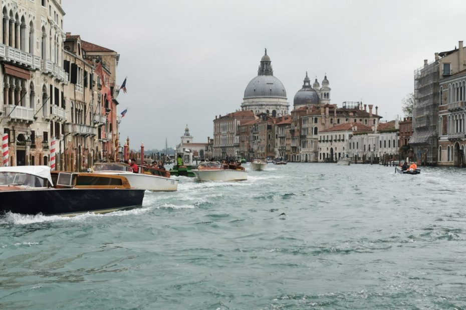 The View From The Back Of A Vaporetto In Venice - This Must Be The Place 2