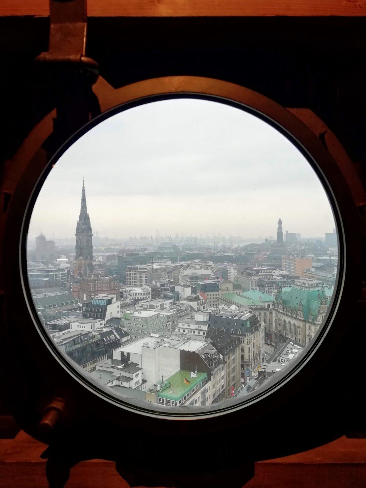 City View From St. Peter's Church, Hamburg