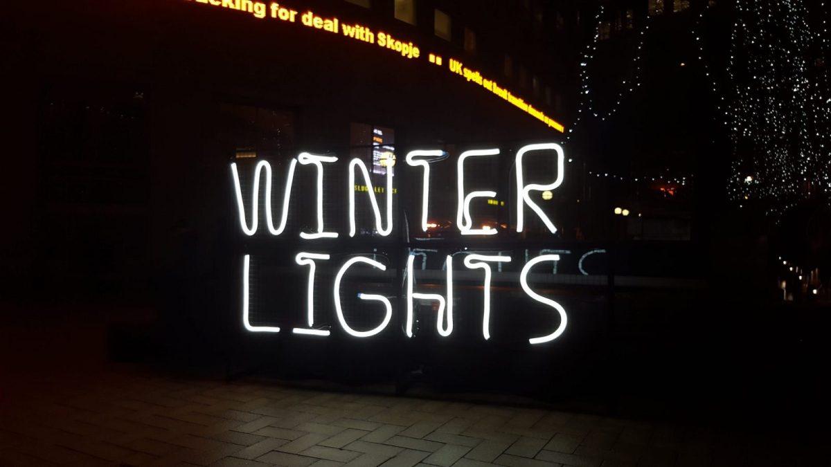 Winter Lights Festival - Canary Wharf 1
