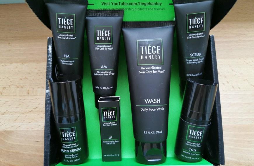 Tiege Hanley Review: Easy Men's Skin Care Routine