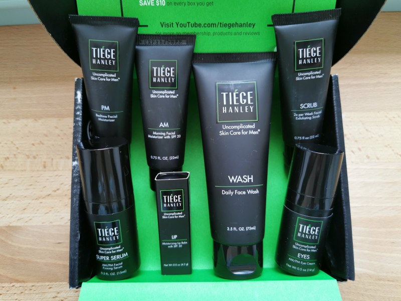 Tiege Hanley Review: Easy Men's Skin Care Routine 3