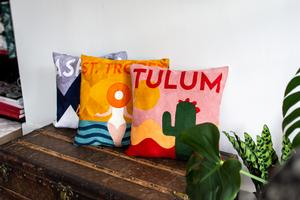 I Want These Travel Inspired Pillows 1