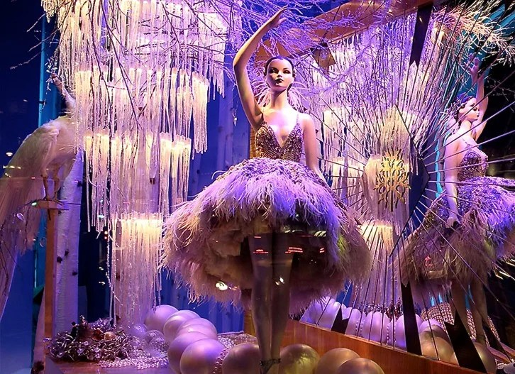 Harrods christmas window