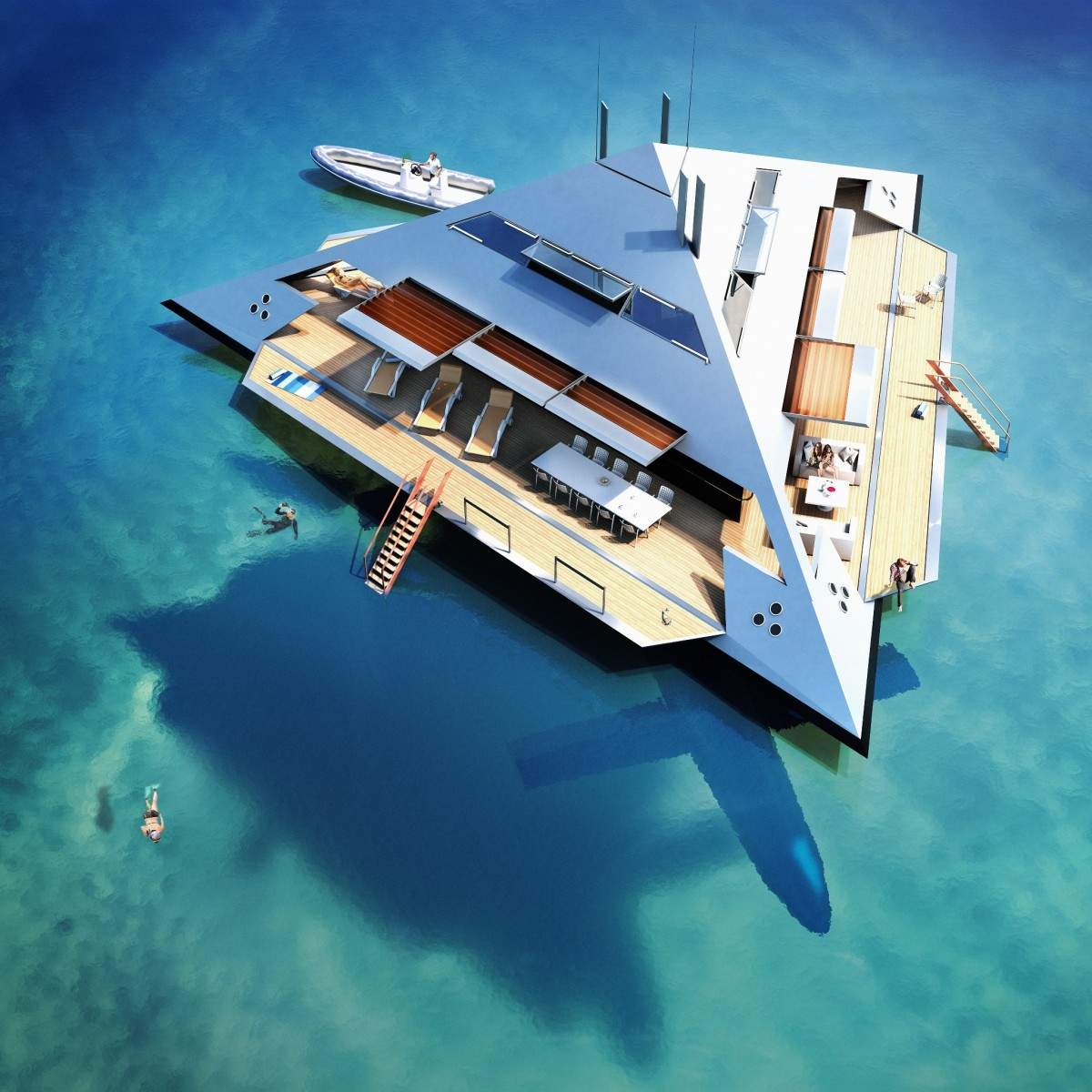 Flying Pyramid Yacht Becoming A Reality Elite Traveler
