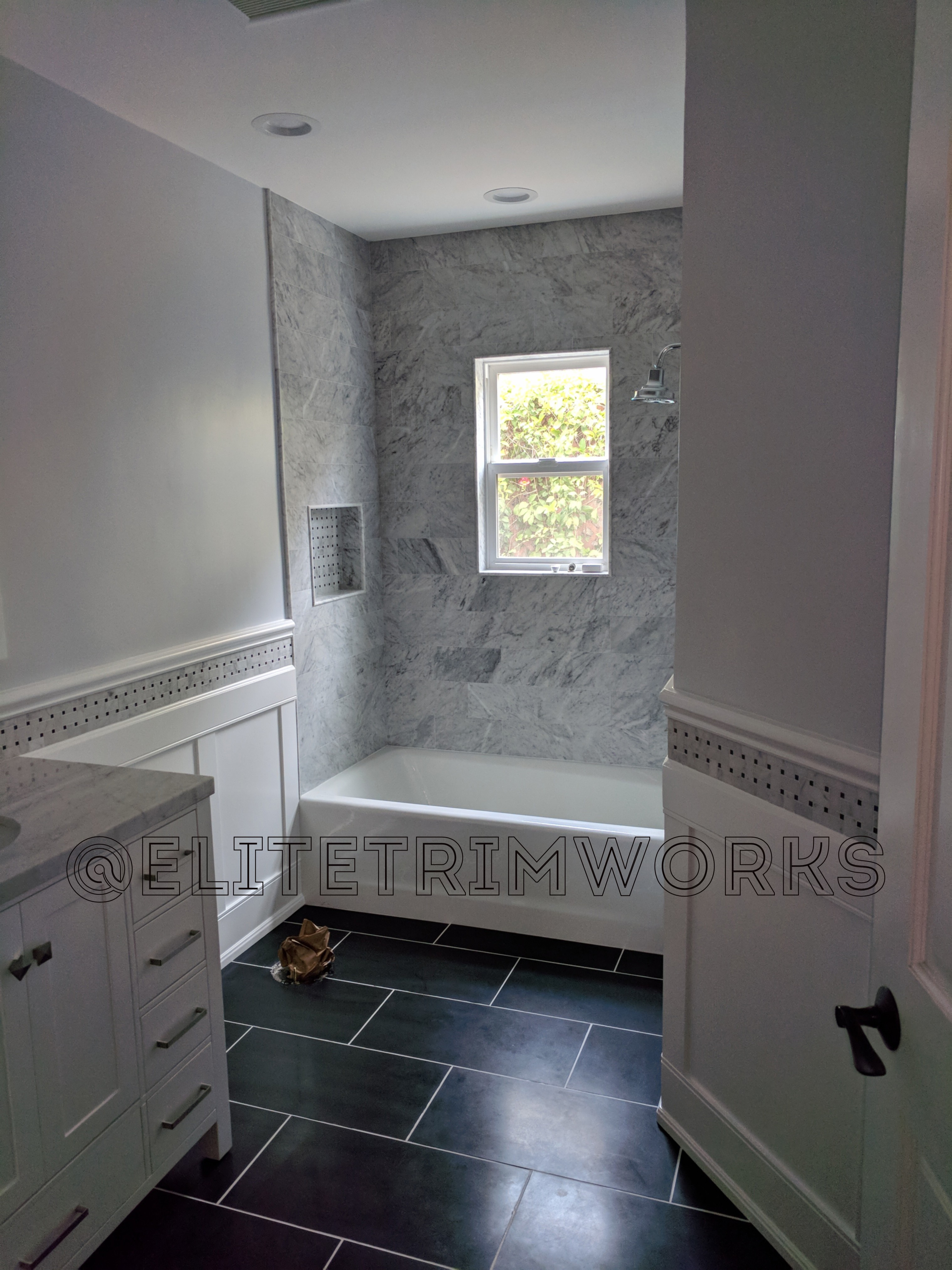 Tile And Wainscoting A Lovely Combination My Cms
