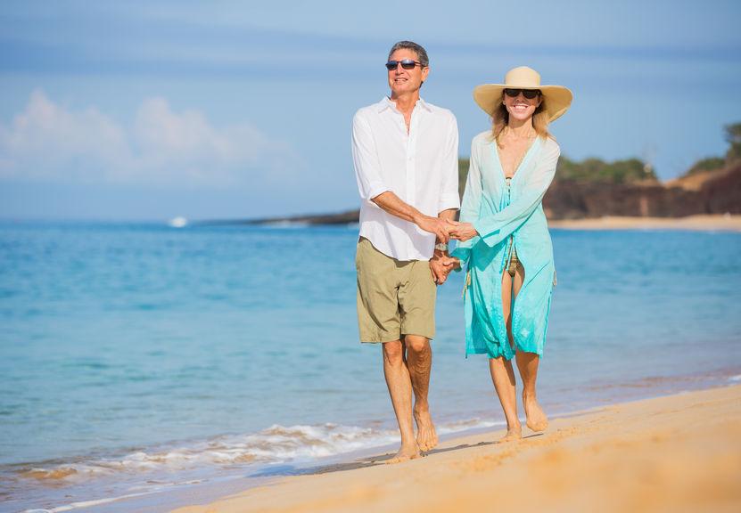 Elite urology - Couple on Beach