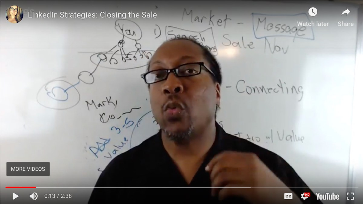 A Quick Tip for Closing the Sale through LinkedIn