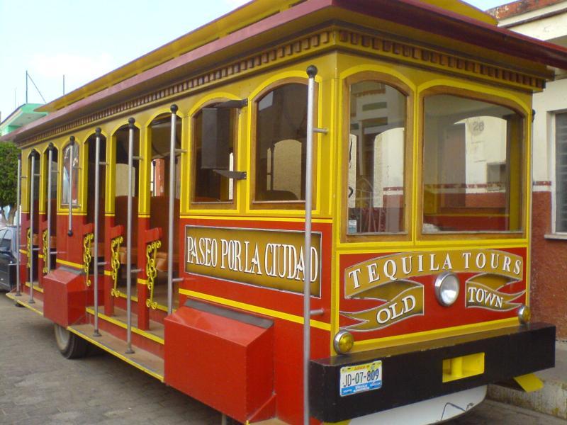 Tequila Jalisco tren