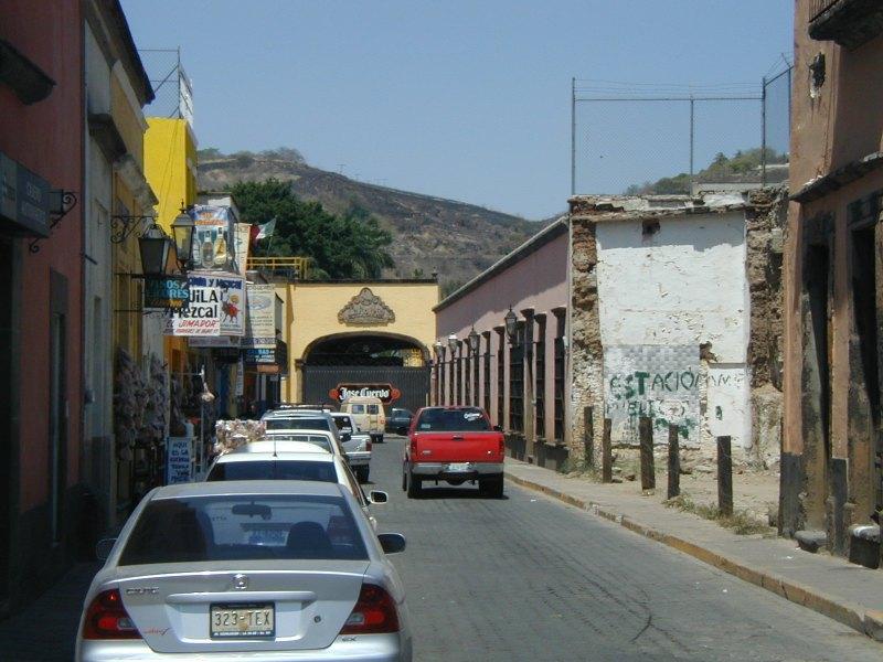 Tequila Jalisco bodega