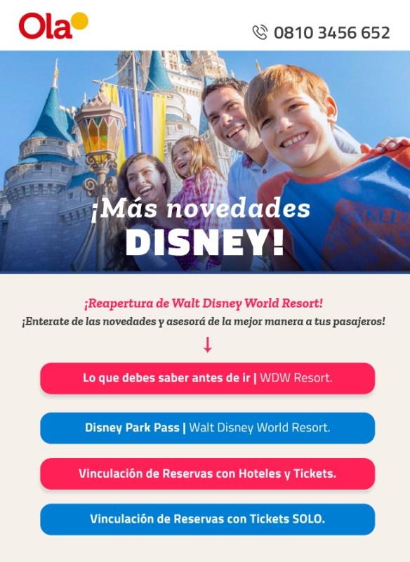 Novedades Disney