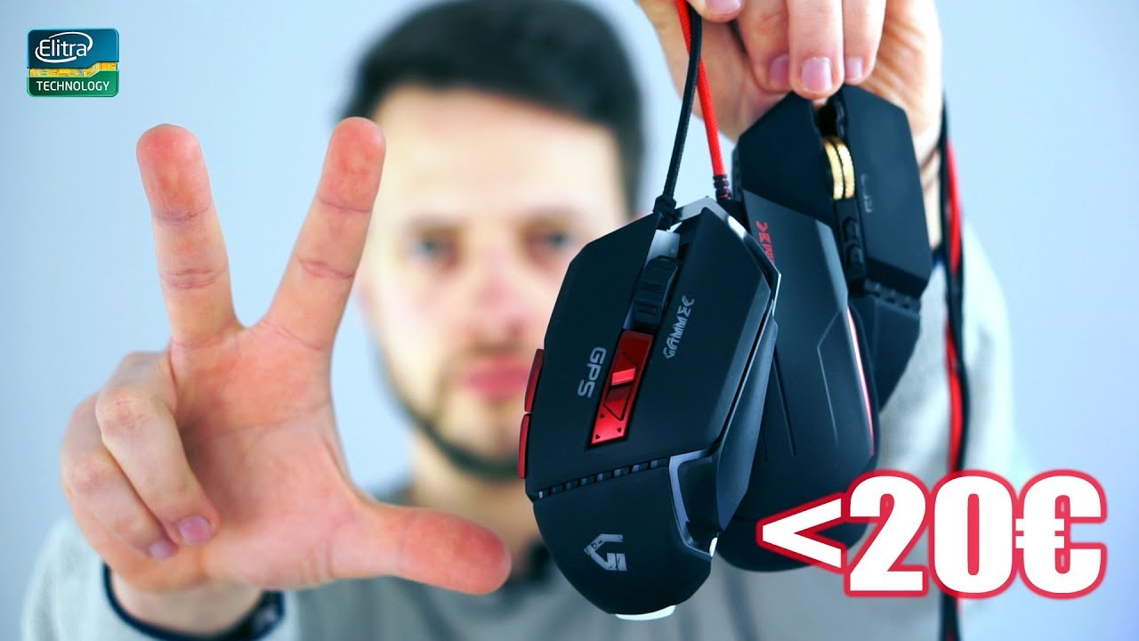 3 Mouse da gaming sotto i 20 euro | GAMMEC GP3 GP4 GP5