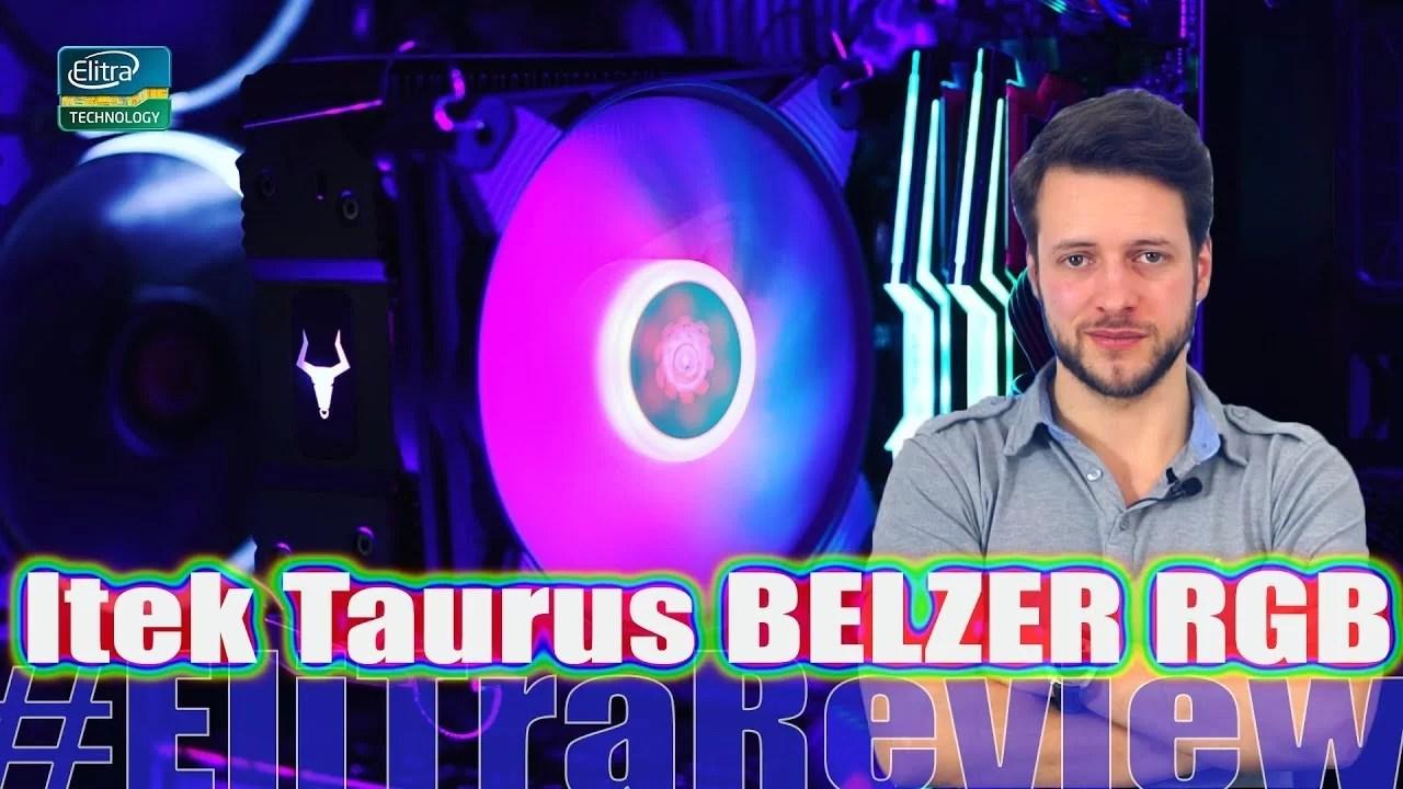 ITEK TAURUS BELZER RGB vs stock Rizen
