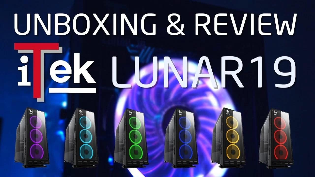 Unboxing Montaggio e Review CASE ITEK LUNAR 19