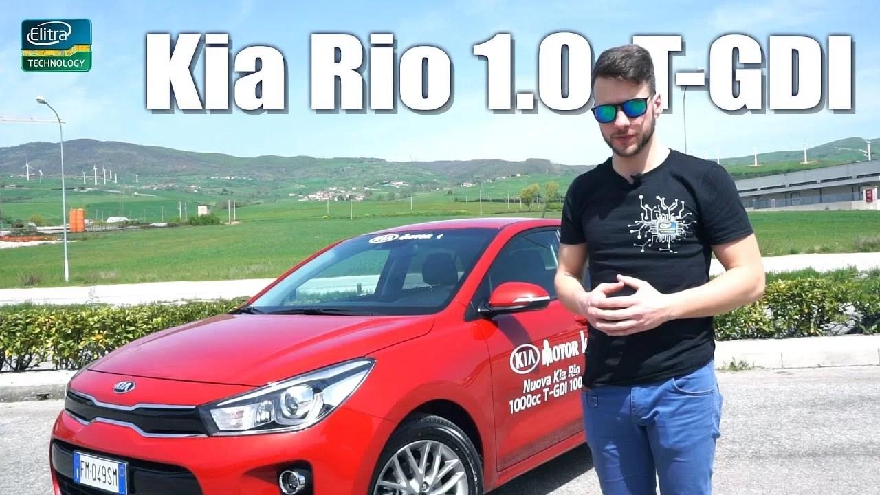 Kia RIO 1.0 T-GDI 100CV – IMPRESSIONI