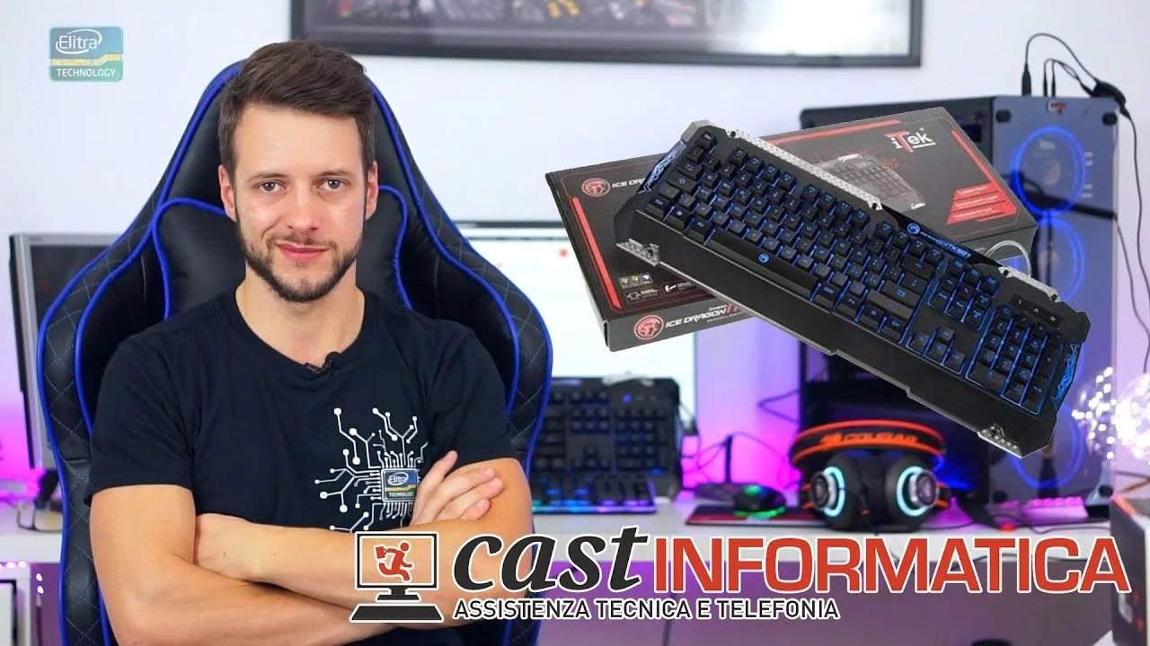 Tastiera da Gaming ECONOMICA 20€ – ITEK ITK927