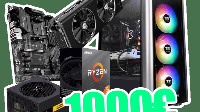 Configurazione PC da Gaming 1000€ – Novembre 2019