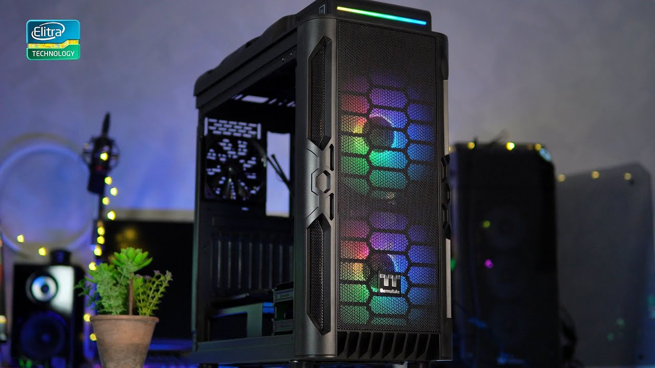 Preview e unboxing Thermaltake Level 20 RS ARGB