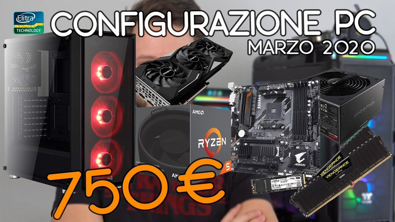 PC BUILD 750€ – Configurazione da Gaming 1440p con benchmark