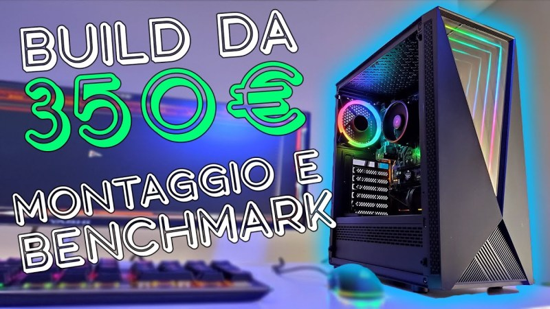 PC BUILD GAMING 350€ – Montaggio e benchmark 3200G