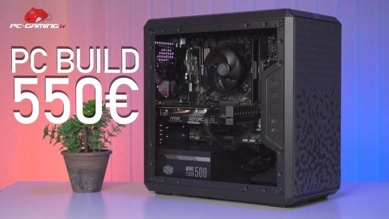 PC BUILD GAMING 550€   Full HD 60FPS