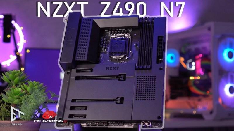Scheda madre NZXT Z490 N7 – CONTATTO RAVVICINATO