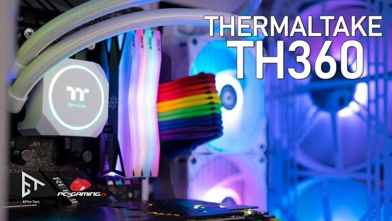 Thermaltake TH360 – Dissipatore a liquido AIO da 360mm