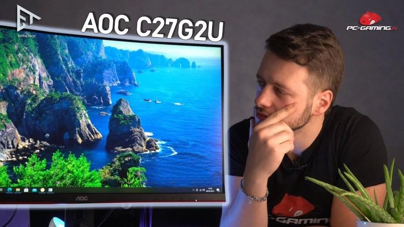 Recensione monitor AOC Full HD 165Hz 1ms C27G2U – Per veri GIOCATORI 😎