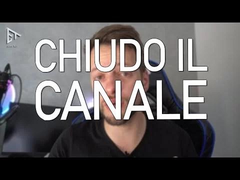 CHIUDO IL CANALE