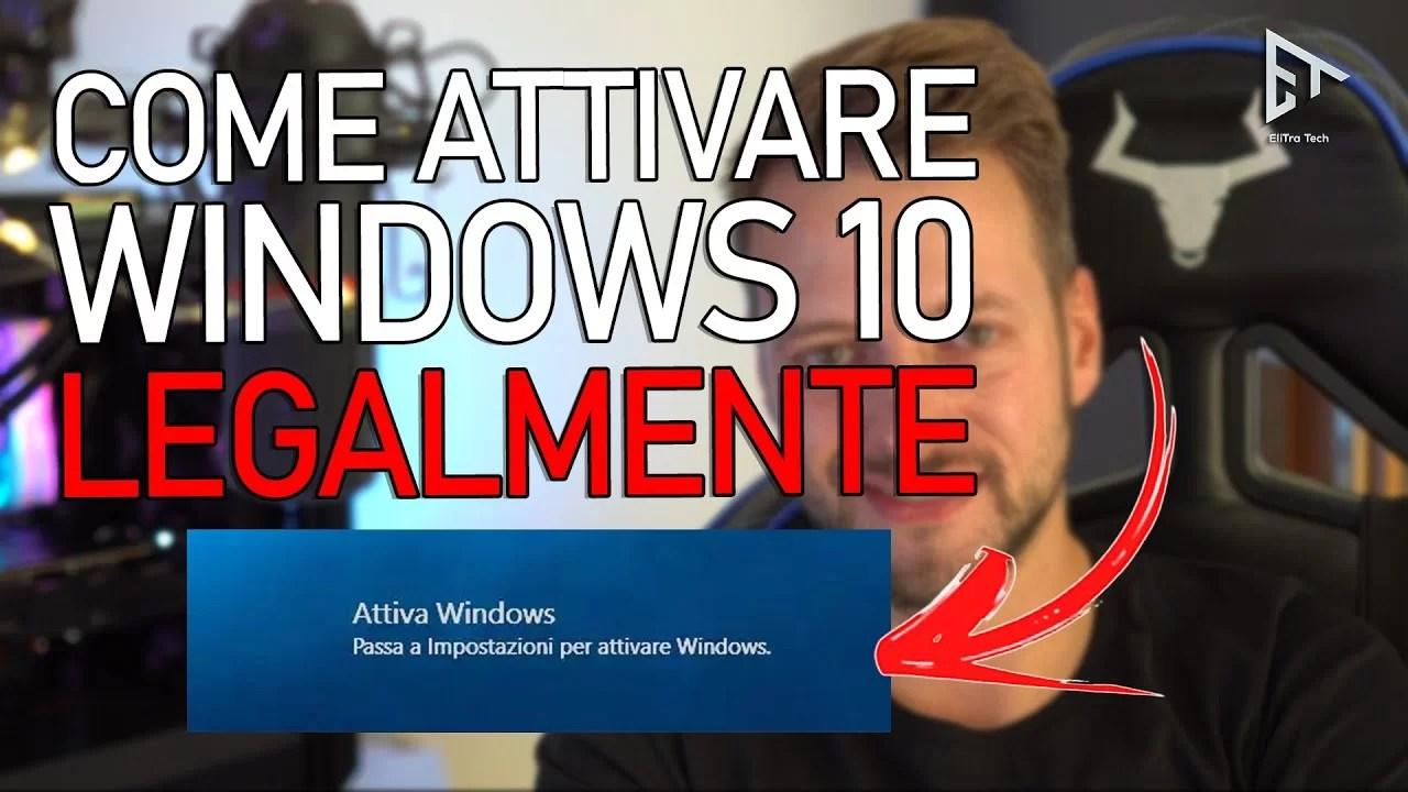 Come ATTIVARE Windows 10 – Chiave UFFICIALE a meno di 14€