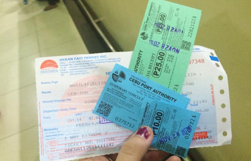 Cebu to Panglao, Bohol