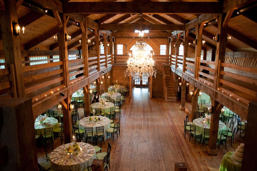 Elegant Barn Wedding Reception Elizabeth Anne Designs