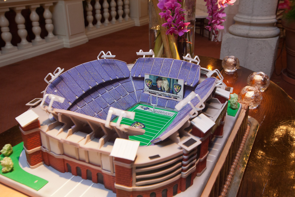 Baltimore Ravens Grooms Cake Elizabeth Anne Designs The