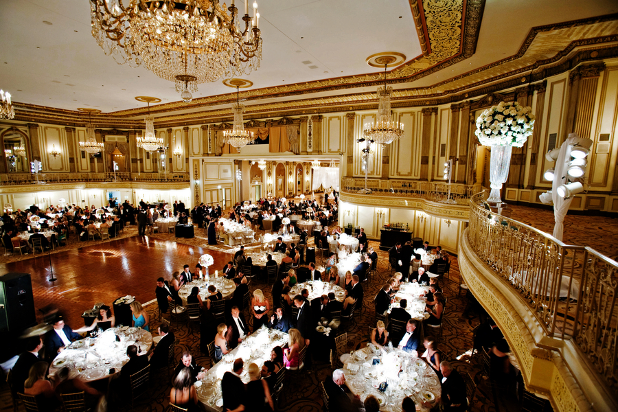 Chicago Wedding At The Palmer House From Becky Hill