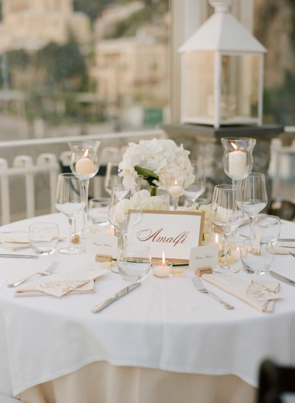 Gold And White Reception Table Setting 1 Elizabeth Anne