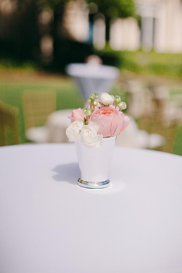 mint julep cocktail table centerpiece - elizabeth anne designs: the