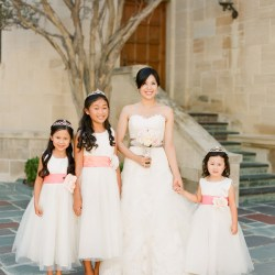 4cb47ca518b Bride And Flower Girls Elizabeth Anne Designs  The Wedding Blog