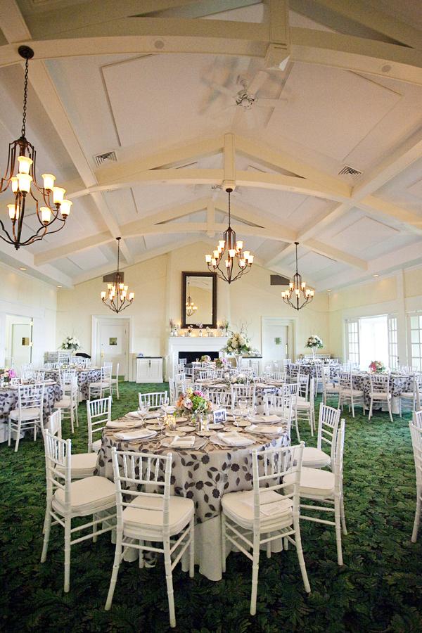 Gray And Cream Floral Reception Tablecloths Elizabeth