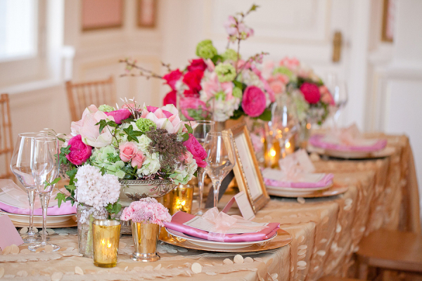 Pink And Green Wedding Decorations Home Design Ideas